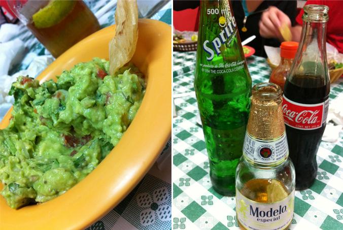 Guacamole & drinks