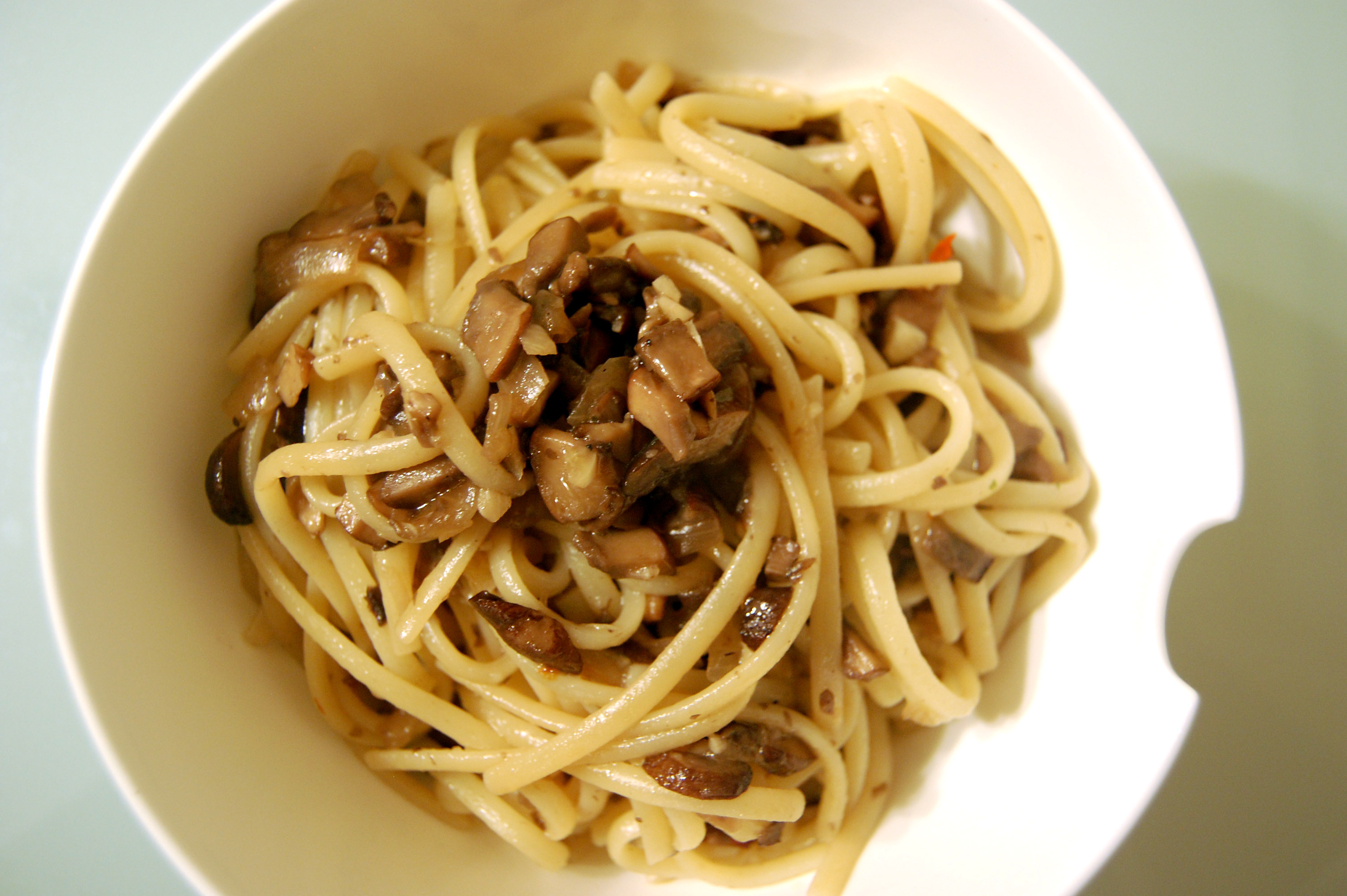 Mushroom Pasta | eat a duck | purveyors of delectable discourse