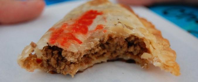 Spicy Beef Empanada