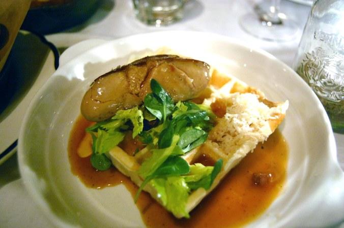 Gaufre a Joues de Veau & Foie Gras