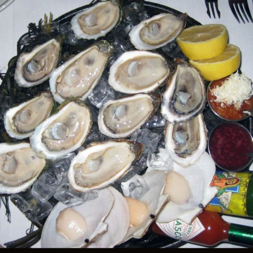 Oysters & clams on the half shell