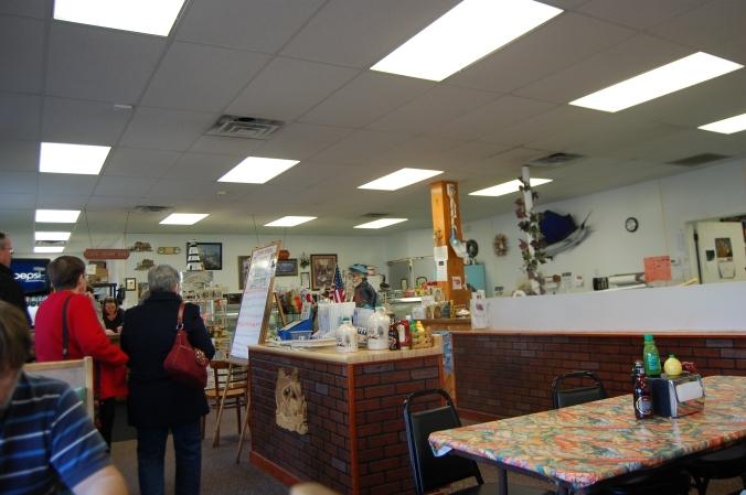 Ray's Seafood Market Interior