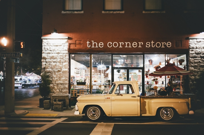 The Corner Store Exterior 2