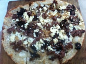 Black & Bleu Flatbread