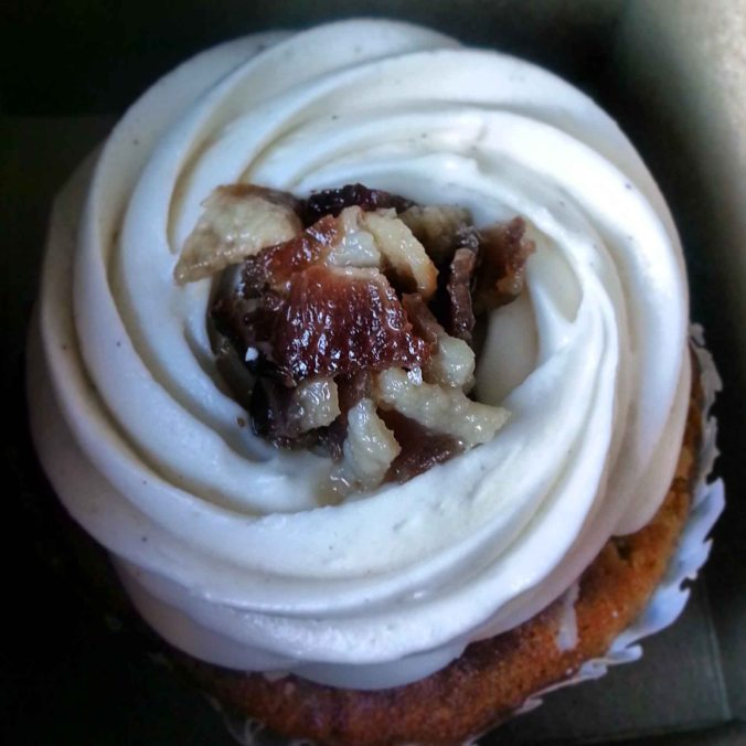 Maple Bacon Pancake Cupcake