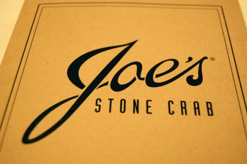 Joe's Stone Crab - Miami Beach, FL