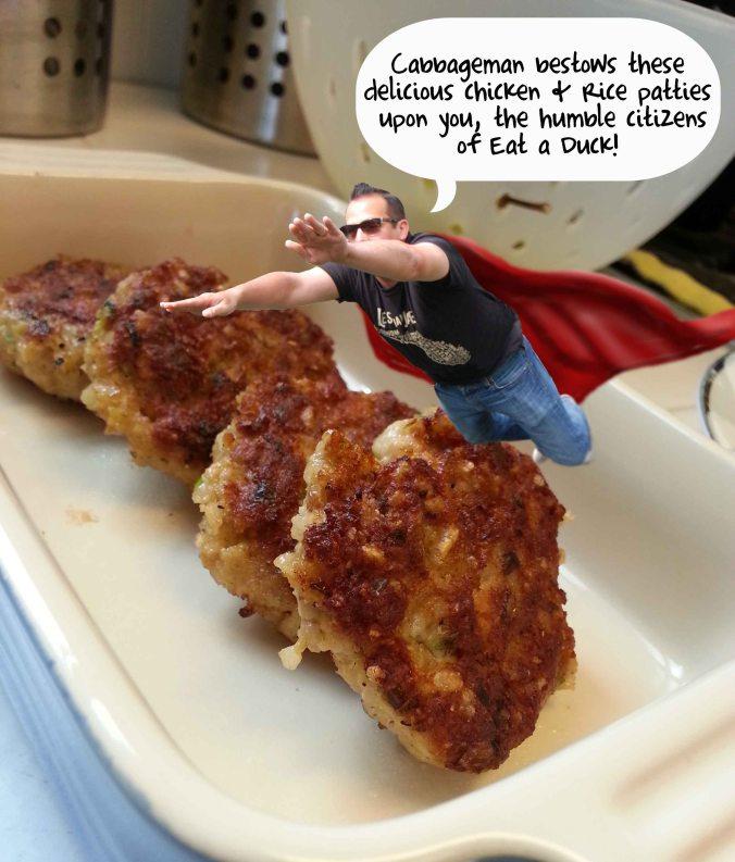 Chicken & Rice Patties