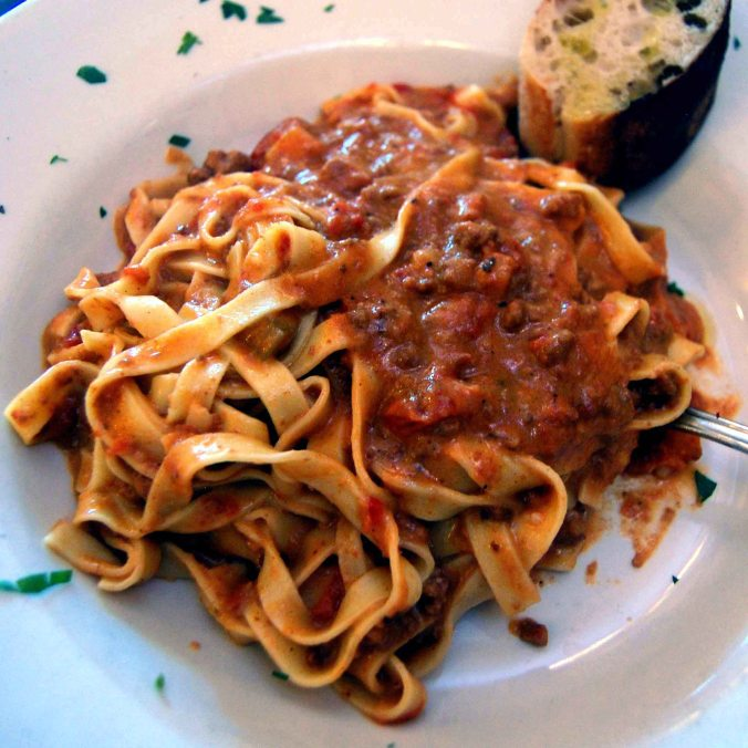 Bud's Bolognese Special