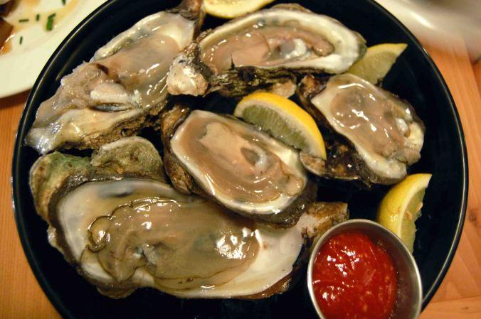 Louisiana oysters on the half shell