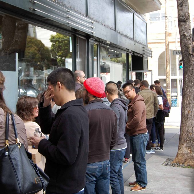 Tartine queue