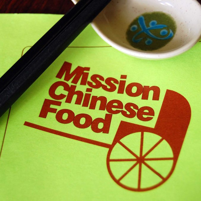 Mission Chinese Menu