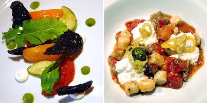 Heirloom tomatoes & short rib gnocchi