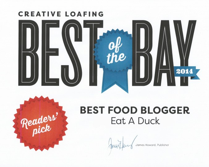 CLBOTB Best Food Blogger