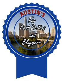 Winner Austin's Top Food Bloggers