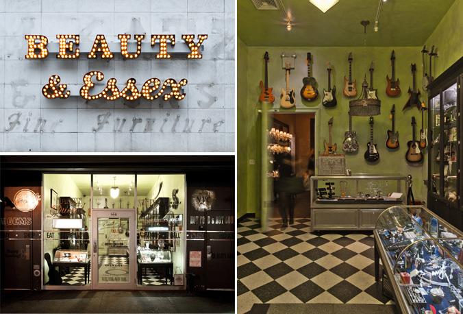 Beauty & Essex spread