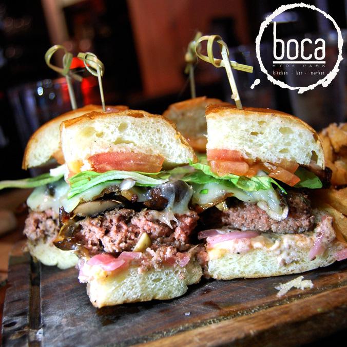 Boca KBM burger