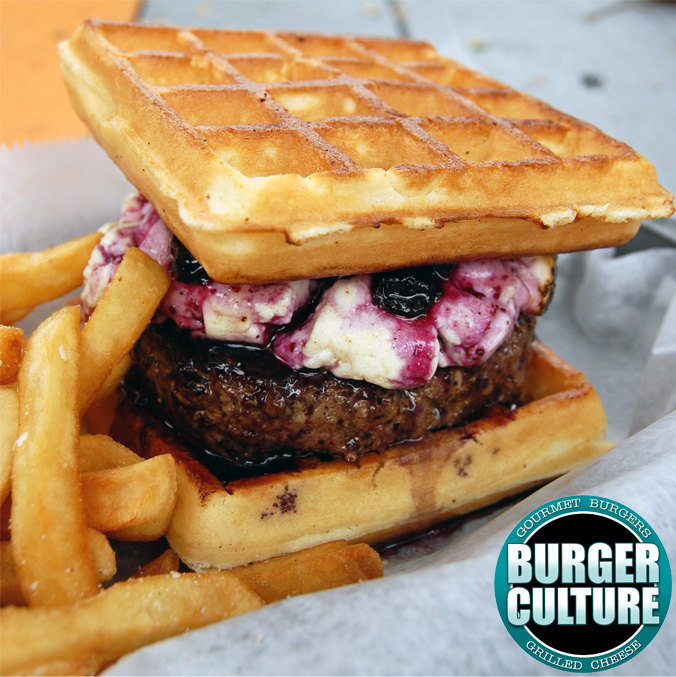 Burger Culture Waffle Burger