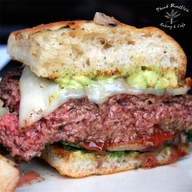Pané Rustica burger of the moment