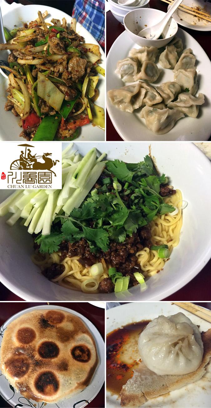 Chuan Lu Garden spread