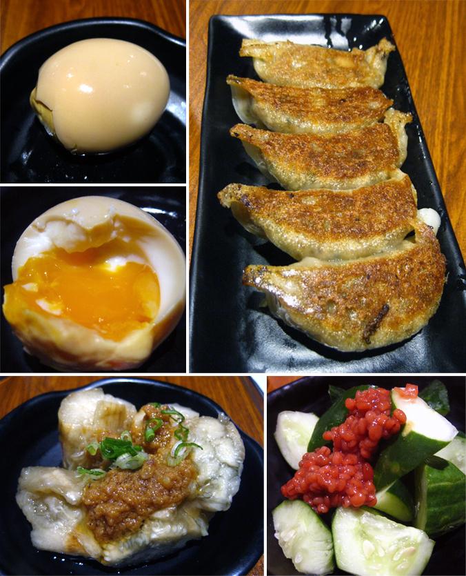 Gyoza-Ya spread